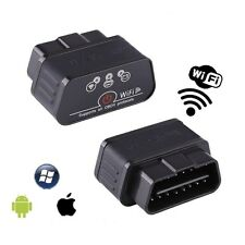 KW903 ELM327 WiFi OBD2 II Car Diagnostic Scanner Tool For iPhone Android Black
