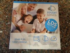 Router Limits Cloud Based Internet Safety Control Brand New Sealed LDS Edition