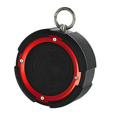 GOSO Portable Bluetooth Speaker with Bike Mount -Red