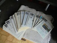 Lot d'anciens Magazines Argus Miniature Solido Dinky Toys Norev Matchbox CIJ etc