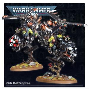 Warhammer 40k 3x Ork Deff Koptas Deffkopta New On Sprues New Sculpts
