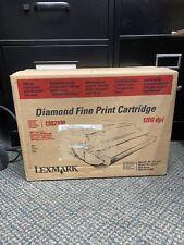 Lexmark 1382100 Diamond Fine Print Cartridge NIB Optra 4039 3112 3116 1200 DPI