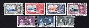 Fiji 1935-37 7 stamps SG#242-48 MH CV=26$