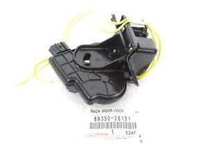 Genuine OEM Toyota 69350-28151 Liftgate Lock Actuator Prius V RAV4 iQ xD xB