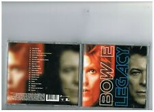 DAVID BOWIE CD. LEGACY. GREATEST HITS.THE BEST OF..COLLECTION..