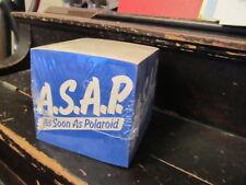 "Polaroid ASAP ""As Soon As Polaroid"" pad of paper SEALED"