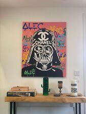 Tableau Alec Monopoly Star Wars (reproduction amateur)