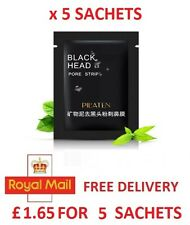 5 x PILATEN BlackHead Remover Genuine Deep Cleansing Mud Mask Pore Face Peel Off