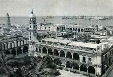 Mexico, Veracruz......Antique  Engraving  1891