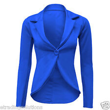 New Womens Ladies Candy Color Stylish Casual Slim Suit Jacket Blazer Top*SLimJck