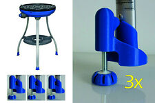 Höhenverstellung Cadac Gasgrill Carri Chef 1 variable Füße Niveauausgleich Blau
