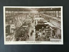 GB WEMBLEY 1924 PALACE OF ENGINEERING RP POSTCARD UNPOSTED