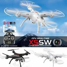 Syma X5SW Dron 4 Channel FPV Real Time Video Quadcopter Xmas Christmas Gifts