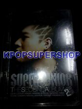 Super Junior The Second Album Don't Don New Sealed Rare OOP B Condition