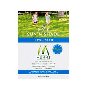 LAWN SEED 400G Munns Pixie Sun N Shade