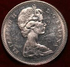 1967 Canada 10 Cents Silver Foreign Coin