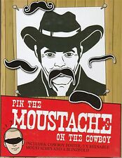Pin The Moustache On The Cowboy Game