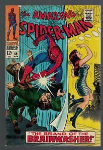 Marvel comics Amazing Spiderman 59 FN  6.0 1968 Mary Jane Cover