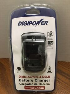 Digipower Digital Camera & DSLR Battery Charger Compatible w Canon QC-500CN NEW