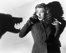 8x10 Print Evelyn Ankers The Wolf Man 1941 #EAWM