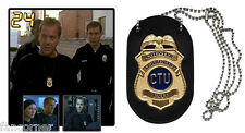 24 heures chrono Réplique Badge Jack bauer official CTU jack bauer replica badge