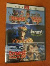 Ernest Triple Feature NEW SEALED DVD Ernest Goes To Jail Ernest Scared Stupid