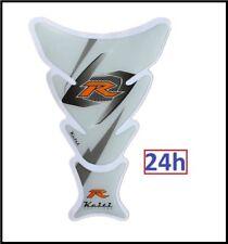 Protection de Réservoir MOTO Sticker adhésif autocollant Blanc R Carbone Racing