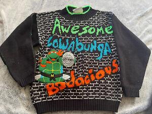 Vintage Teenage Mutant Ninja Turtles Sweater Made In The USA