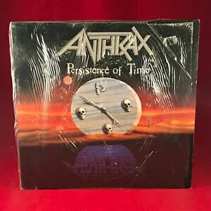 ANTHRAX Persistence Of Time 1990 UK vinyl LP + INNER EXCELLENT CONDITION