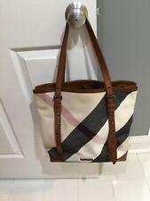 100% Authentic Burberry Plaid Shoulder Bag Excellent Condition