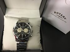 Gents Rotary Avenger Multi dial Watch on bracelet RRP £219 GB02730/04