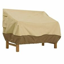 Classic Accessories 55-647-011501-00 Veranda Patio Bench Cover, Large
