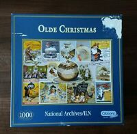 1000 Piece Christmas Jigsaw Puzzle - Gibsons National Archives - Olde Christmas