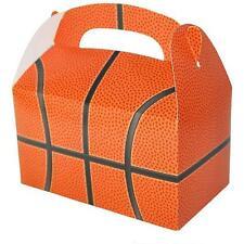 12 BASKETBALL TREAT BOXES Birthday Loot Goody Prize Gift Bag #AA22 FREE SHIPPING