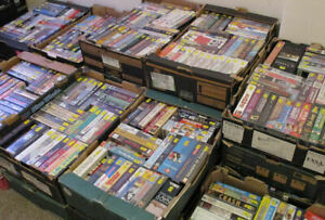 VHS Videos from £1.50 each - family action/adventure/sci-fi