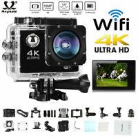 WIFI 1080P 4K Ultra HD Sports Action Camera DVR DV Waterproof Camcorder Camera
