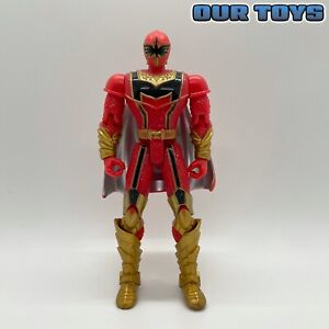 "⚡️Bandai•Power Rangers: MYSTIC FORCE RED RANGER 5.5"" Action Figure (2005)🥷🏽"