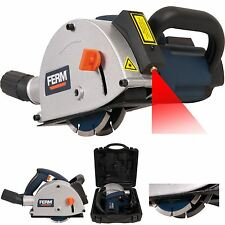Ferm Electric Wall Chaser Slotter Laser Guided 1700w Electrician