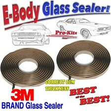 Fits 70 71 72 73 74 Cuda Challenger Windshield Rear Glass Window Sealer Kit