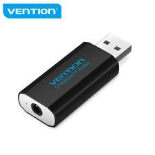 VENTION USB Sound Card External to 3.5mm Earphone Headphone Mic Audio Adapter