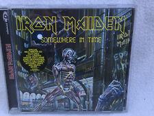 IRON MAIDEN SOMEWHERE IN TIME ENHANCED CD ALBUM SPECIAL MULTIMEDIA CD NWOBHM