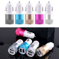 2.1A Mini Universel Double Port USB Chargeur Adaptateur De Voiture Pour
