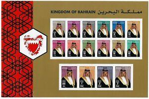 BAHRAIN 2002 SG 696 711 MINT NEVER HINGED