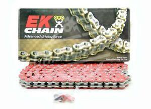 EK Chains 525 x 120 Links MVXZ2 Series Xring Sealed Red Drive Chain