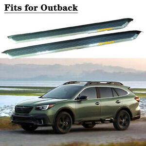 fits for SUBARU Outback 2015-2020 Running board side step Nerf bar 2PCS
