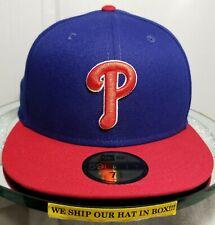 Philadelphia Phillies~MLB~New Era~59FIFTY~Authentic~ALT 2019~Blue with Red Visor