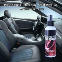 50ML Plastic Parts Retreading Agent Wax Car Maintenance Care