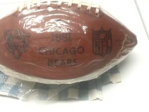 NFL Chicago Bears 1981 Team Signed Football; Replica / Facsimile