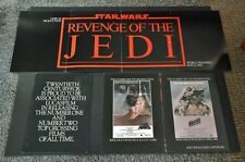Revenge of the Jedi Star Wars Original Movie Poster Insert -  *Hollywood Posters