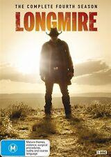 Longmire : Season 4 (DVD, 3-Disc Set) NEW